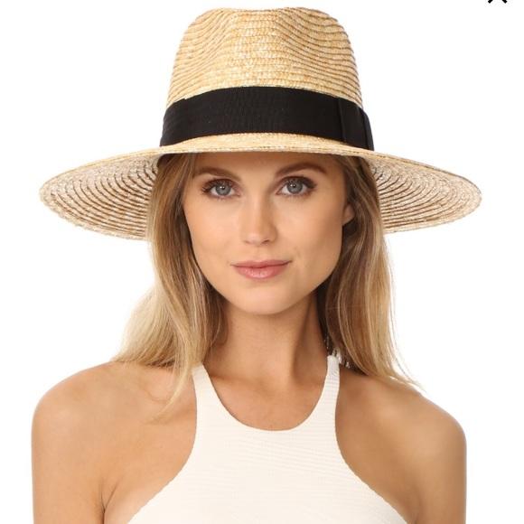 b9e4333fc945c Brixton Joanna Straw Wide Brim Hat